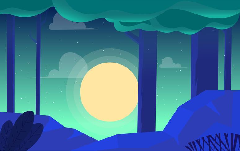 Vector Landscape illustration