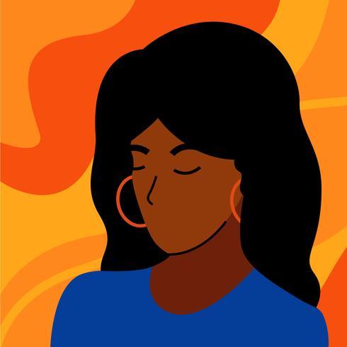 Illustration du Mois de l'histoire des Noirs vecteur