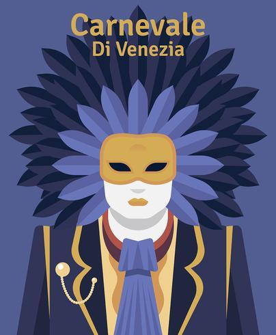 Carnevale Di Venezia Illustration vector