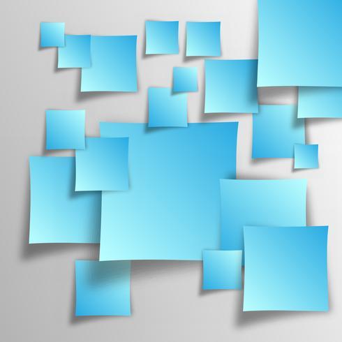 quadrados de sobreposição de vetor eps10