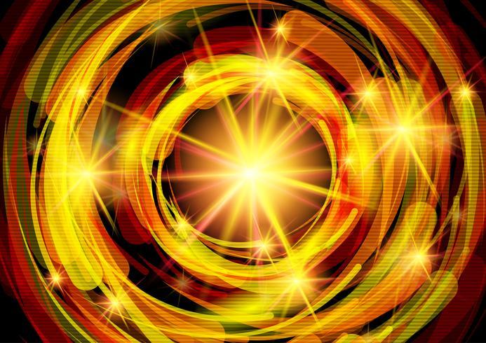 Swirly fire