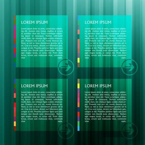 Groen vectormalplaatje voor Web, vector