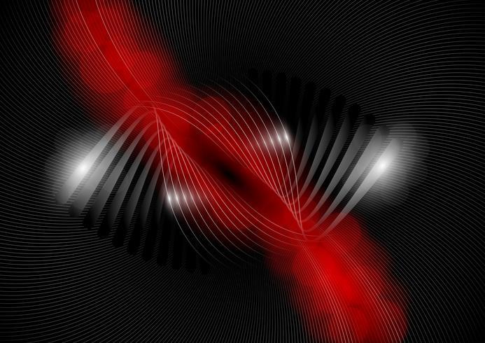 Abstracte rode en zwarte achtergrond, vectorillustation vector