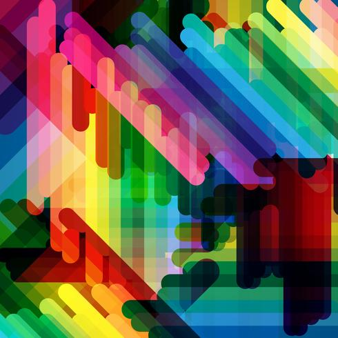 Abstrakter bunter Vektorhintergrund vektor