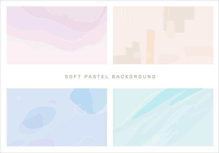 Abstracte zachte Pastelkleur Vectorachtergrond