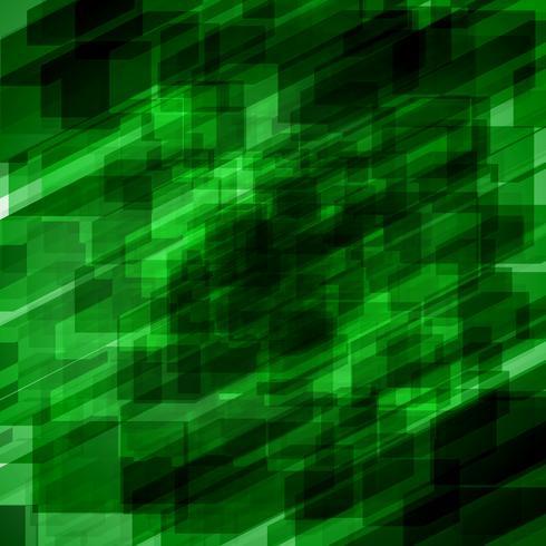 Priorità bassa verde astratta, illustrazione di vettore