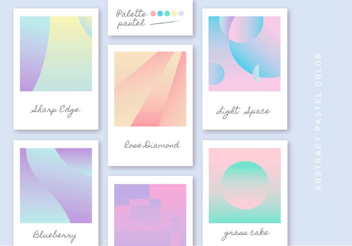 Gradient Pastel Color Vector Background