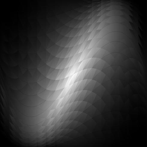 Fondo de triángulo vector gris