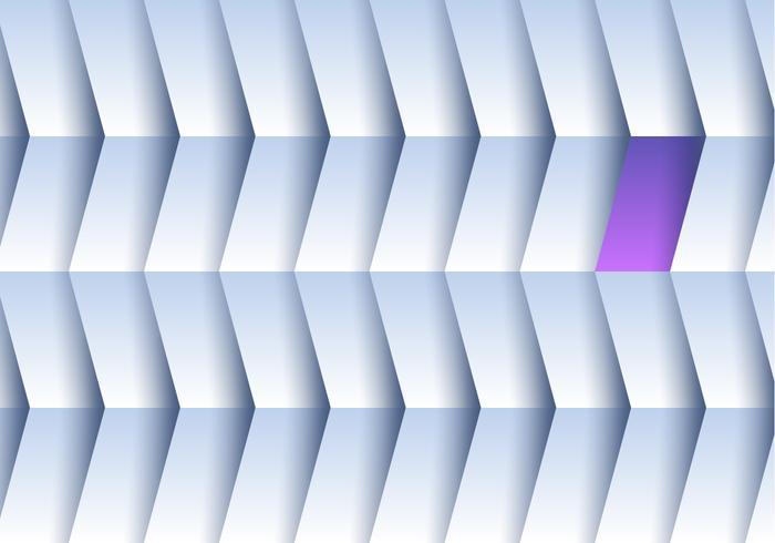 Roxo centro de interesse vetor de forma de repetição de fundo branco