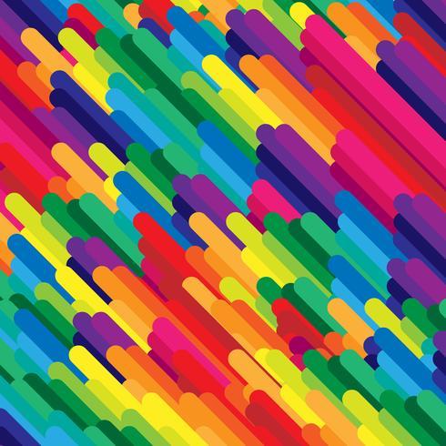 Fundo abstrato colorido vector