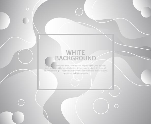 Fond blanc vecteur