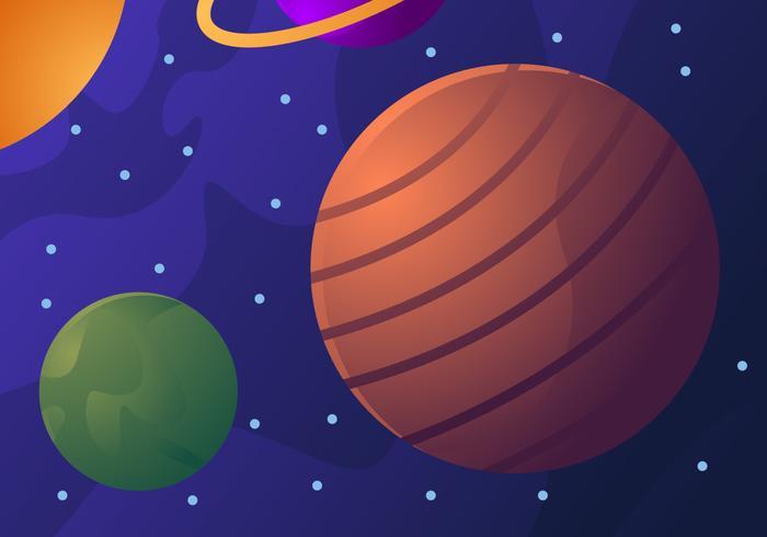 Amazing Galaxy Vecteurs de fond vecteur