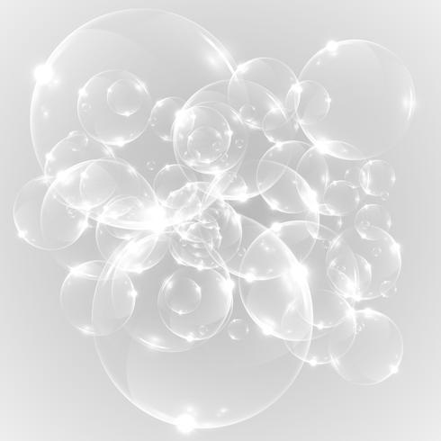 Lampadine realistiche, illustrazione vettoriale