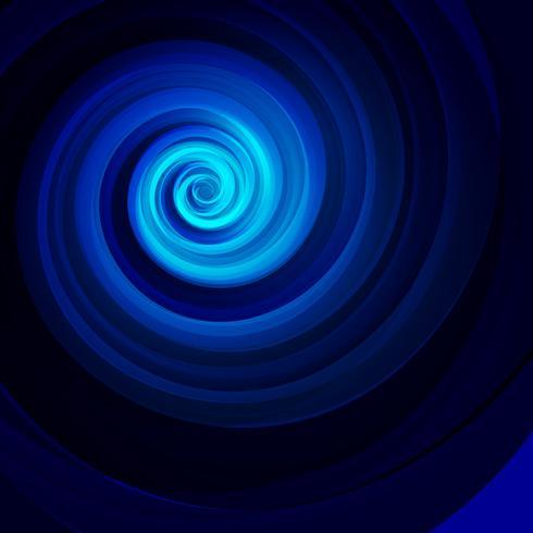 Swirly blå bakgrund, vektor illustration