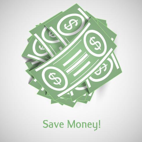 Vector illustration money