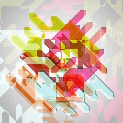 Abstrato colorido eps10 de fundo vector