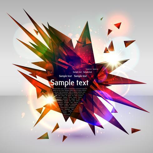 Fundo abstrato vector eps10