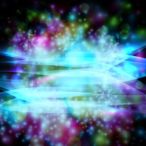 Estrelas no vetor eps10 preto