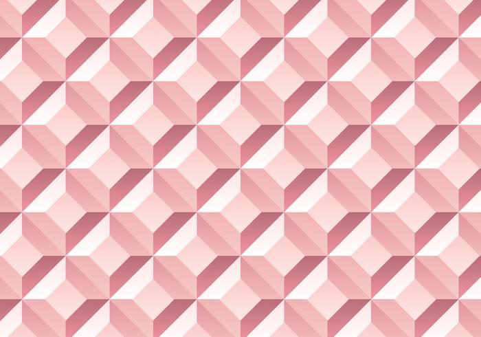 Sfondo di modello in oro rosa diamante vettore