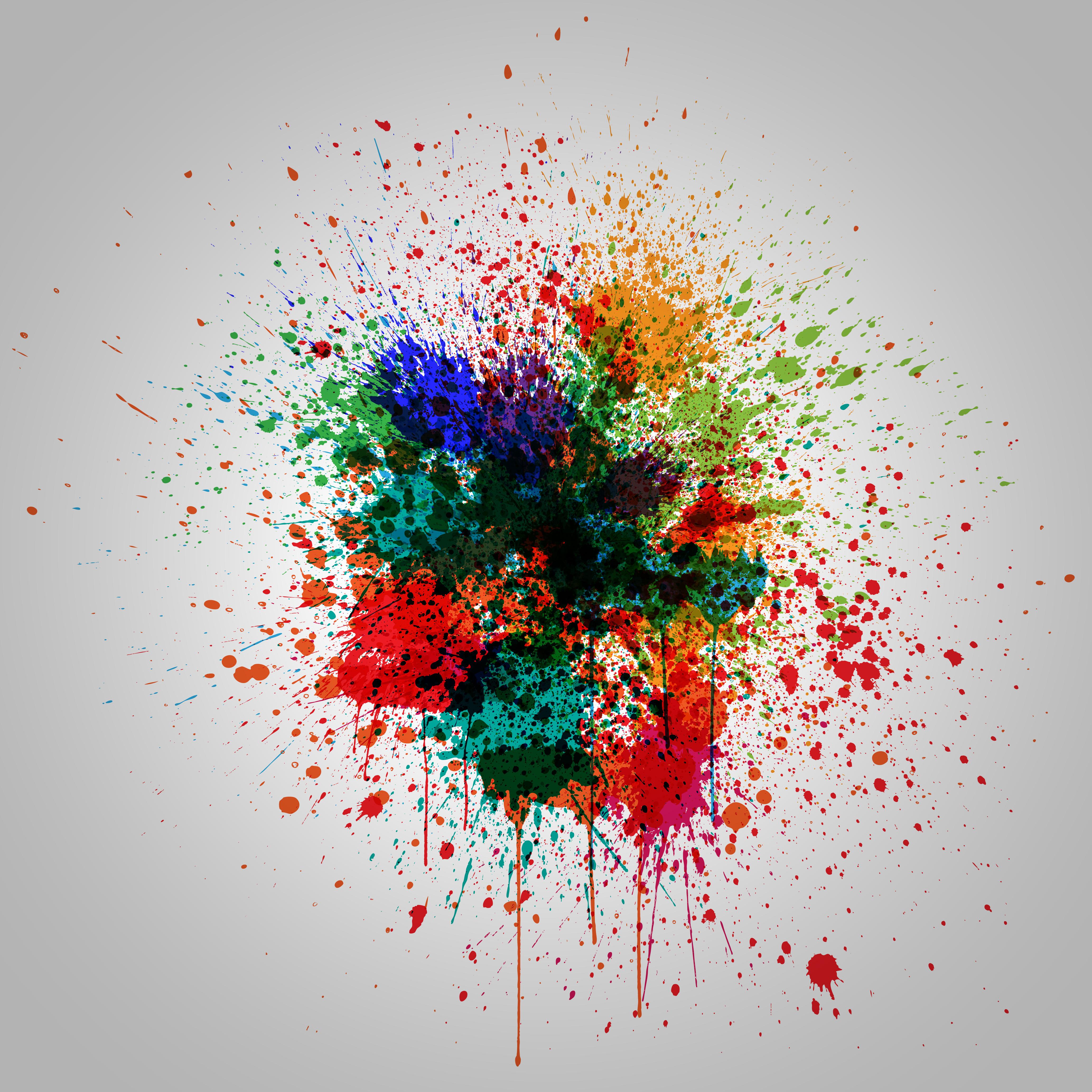 Colorful Splash Effect Vector Illustration Download Free Vectors Clipart Graphics Vector Art