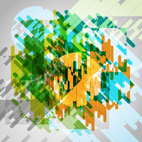 Fondo colorido abstracto del vector eps10