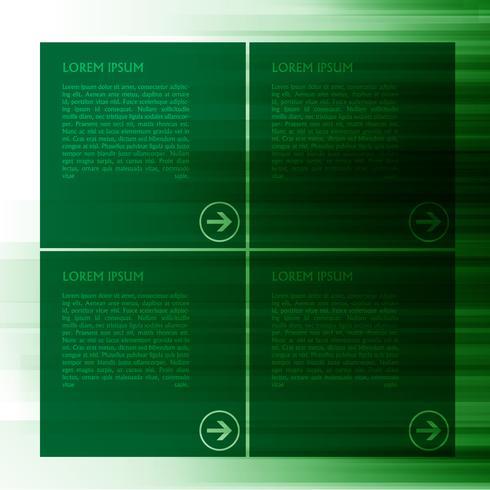 Grön vektor mall för webb, vektor