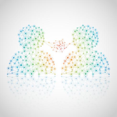 Ilustración de la red, Vector, Icono vector