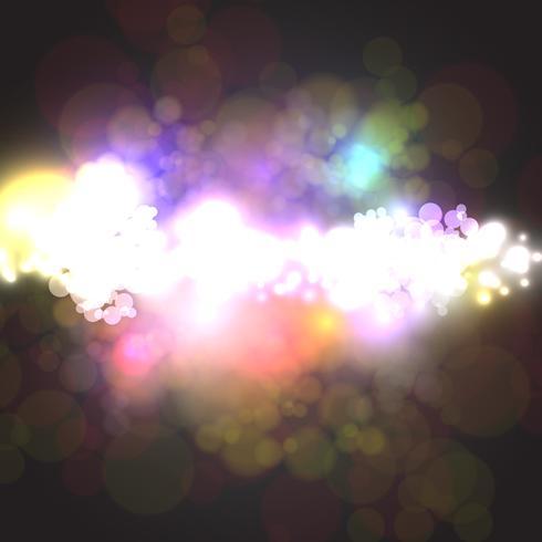 Illustrazione vettoriale stellato colorato