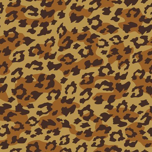 Fondo inconsútil del leopardo. Ilustracion vectorial