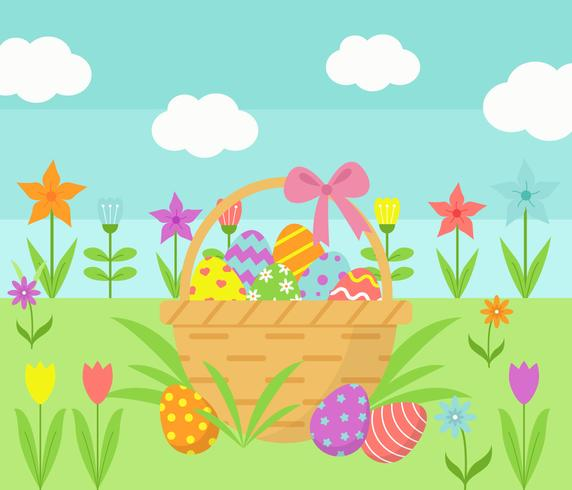 easter wallpaper vector stock images