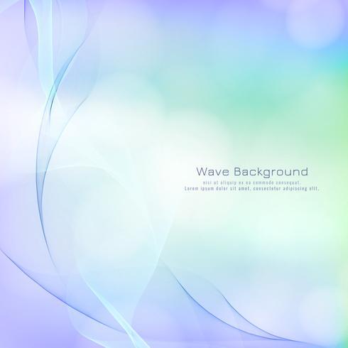Priorità bassa variopinta di stile astratto elegante dell'onda
