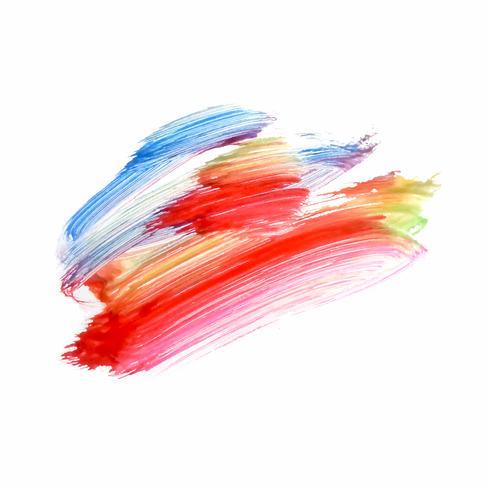 Fondo decorativo de la acuarela colorida abstracta vector