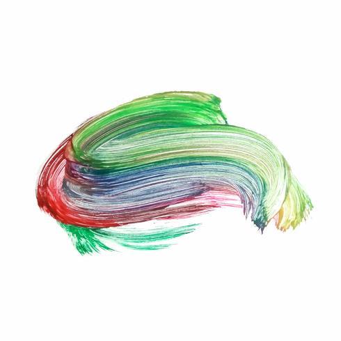 Abstract kleurrijk waterverfontwerp als achtergrond vector
