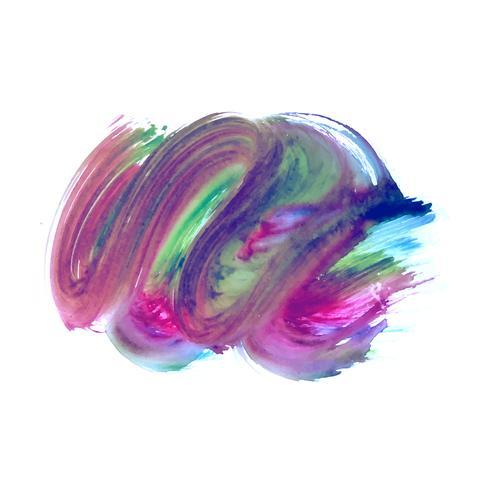 Fundo de mancha decorativa aquarela colorida abstrata
