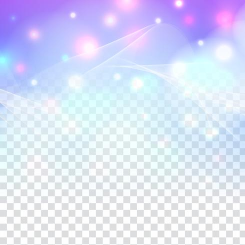 Abstrato design de brilho cintilante elegante em fundo transparente