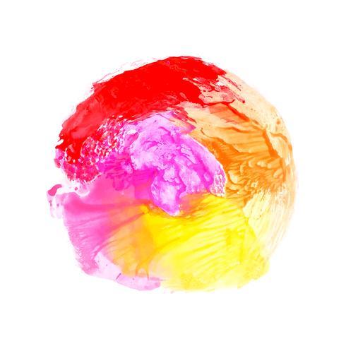Fundo abstrato colorido respingo aquarela
