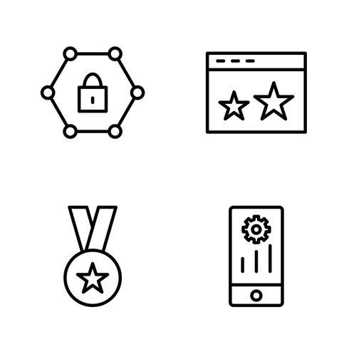 Vector Icone di seo