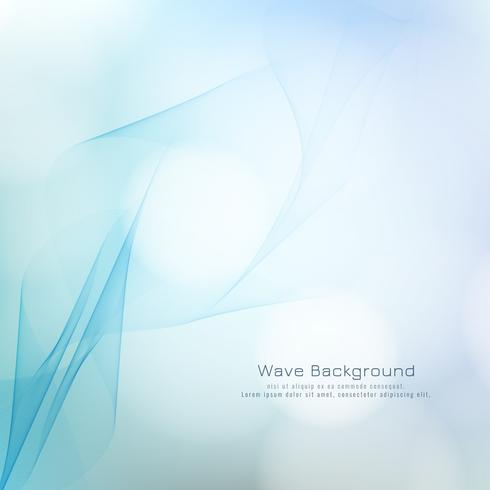 Abstract wave style colorful stylish background