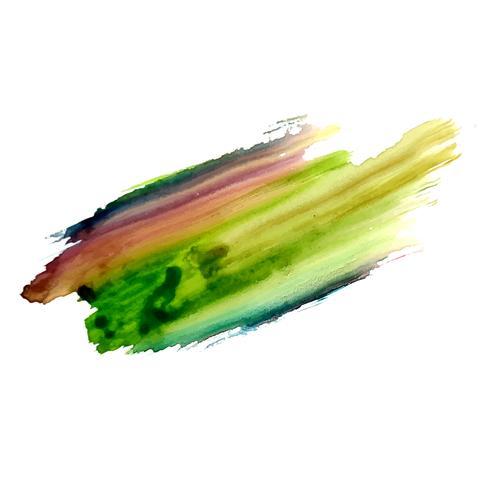 Fondo colorido abstracto de la mancha de acuarela