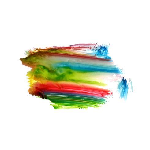 Fondo elegante abstracto acuarela mancha colorida
