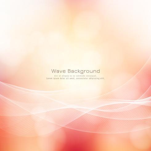 Bunter Hintergrund der abstrakten Wellenart