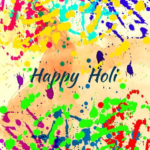 Fondo moderno di festival religioso astratto felice di Holi