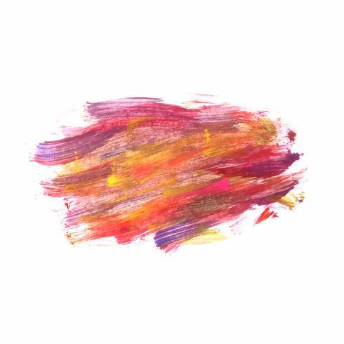 Abstracte kleurrijke aquarel achtergrond vector