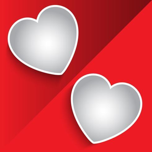 Alla hjärtans dag foto montage bakgrund