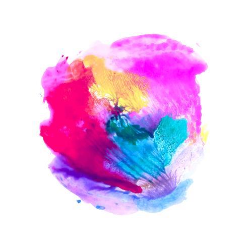 Abstrakter bunter Aquarellspritzen-Designhintergrund