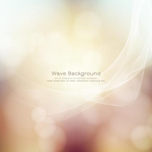 Bunter Hintergrund der abstrakten Wellenart vektor