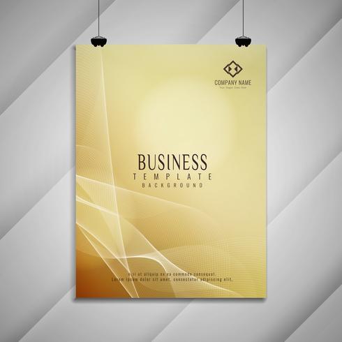 Disegno astratto elegante colorato astratto business brochure
