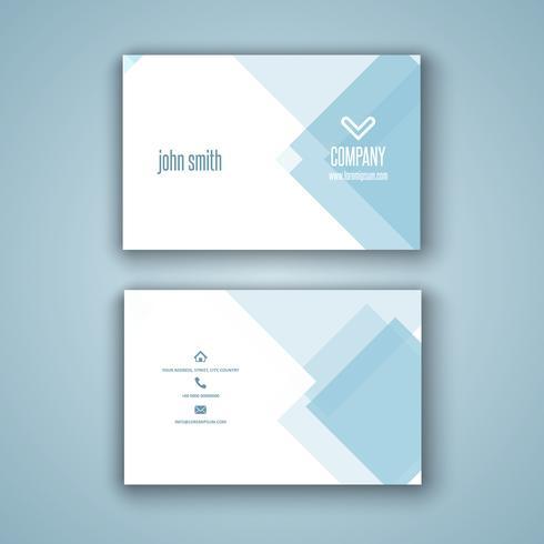 Laag poly visitekaartje ontwerp