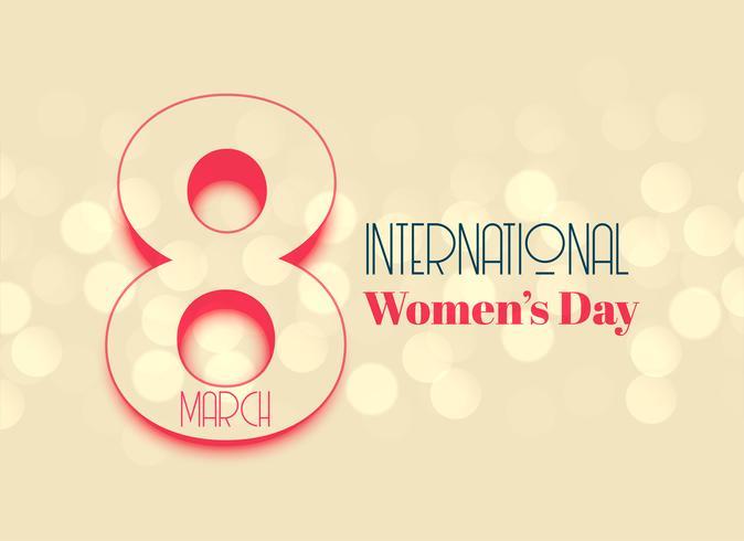 Journée internationale des femmes belle conception de fond