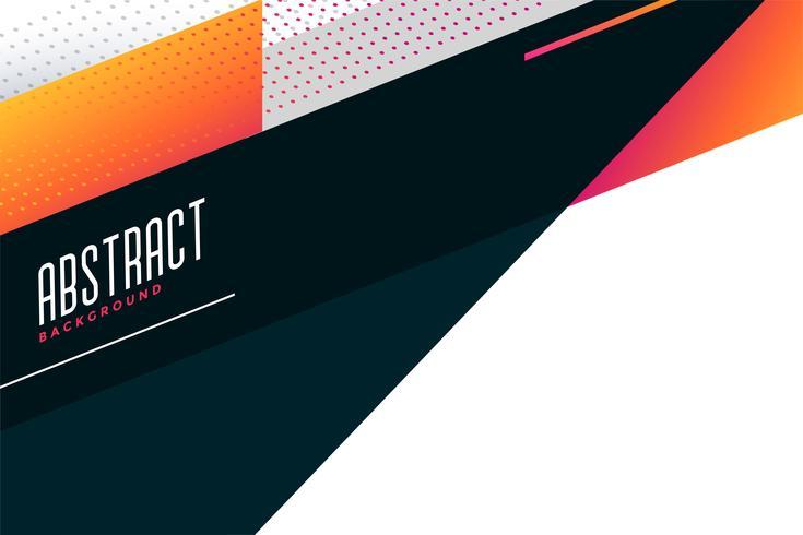 diseño de fondo geométrico elegante abstracto